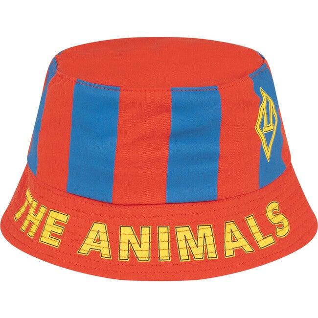 Starfish Hat, Red Stripes - Hats - 1