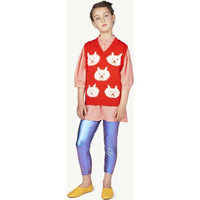 Arty Bat Kids Vest Red