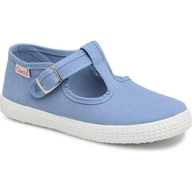 Buckle Sneakers, Blue