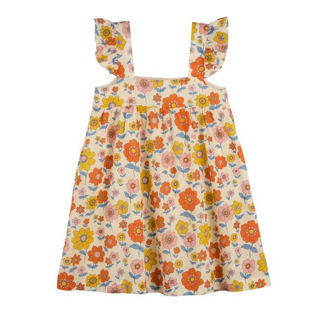 Talia Dress, Retro Flower