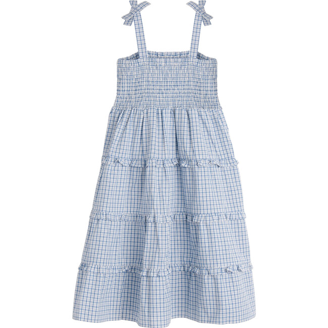 Brianna Dress, Blue Check