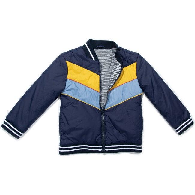 *Exclusive* Freddie Jacket, Navy - Jackets - 1