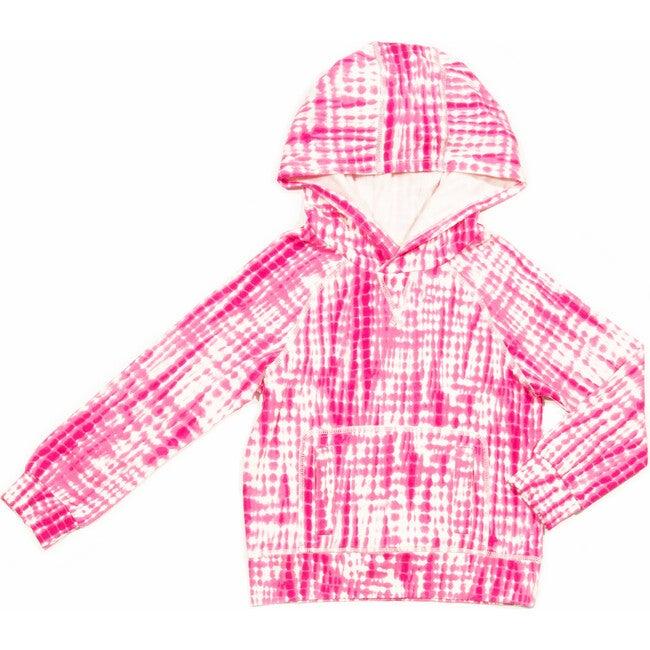 Larson Hoodie, Pink Print