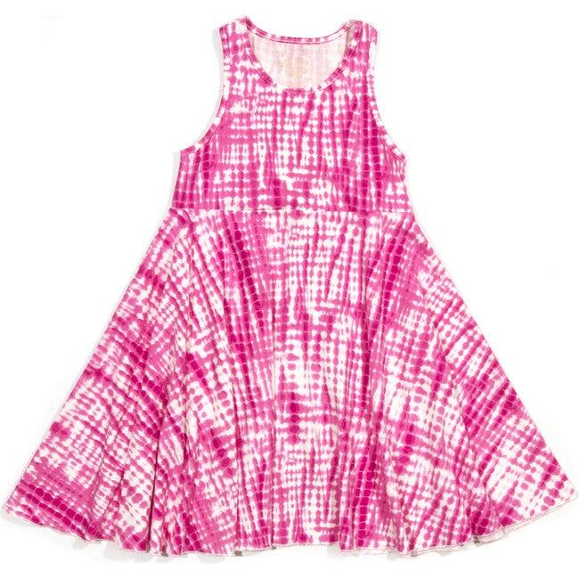 Iona Dress, Pink Print