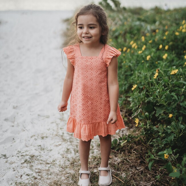 Emmy Dress, Coral