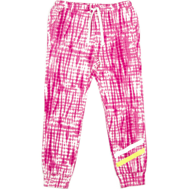 Chase Sweat Pant, Pink Print