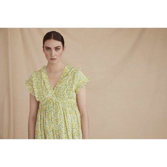 Women's The Terrazzo Dress, Buttercup Yellow