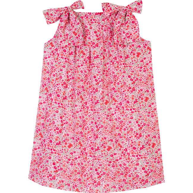 The Little Sundress With Bows, Tiny Pink Flower
