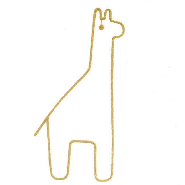 Giraffe Wall Hanging, Yellow - Wall Décor - 1