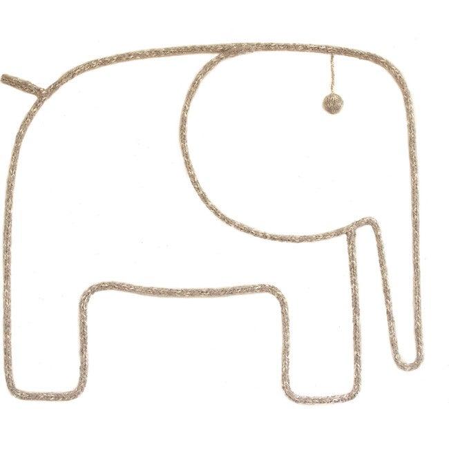 Elephant Wall Hanging, Sand