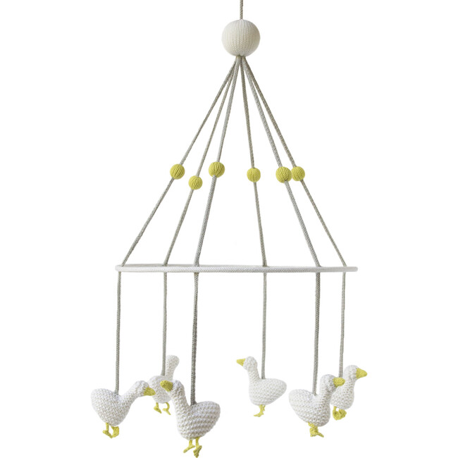 Geese Mobile, White