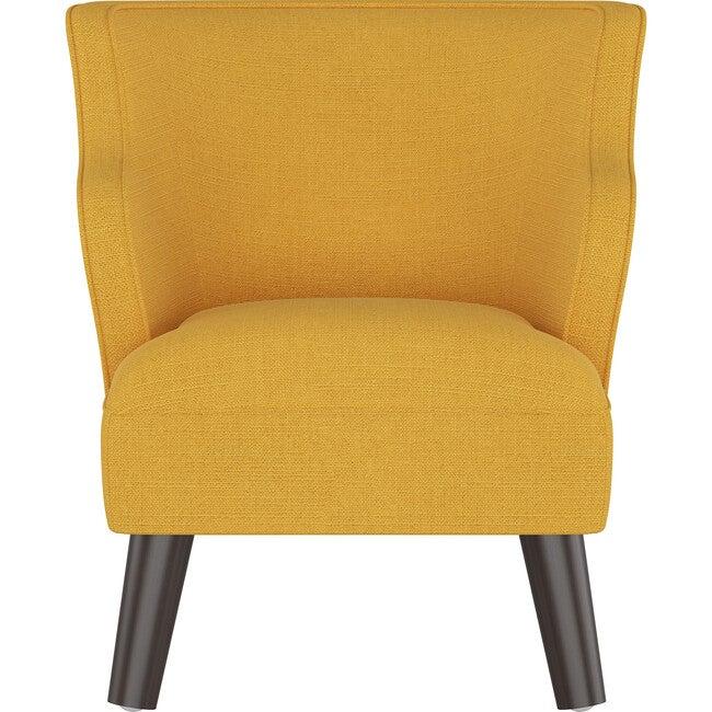 Felix Kids' Chair, French Yellow Linen