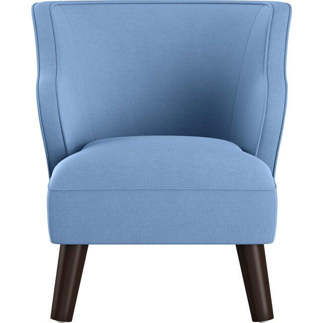 Felix Kids' Chair, Denim Linen