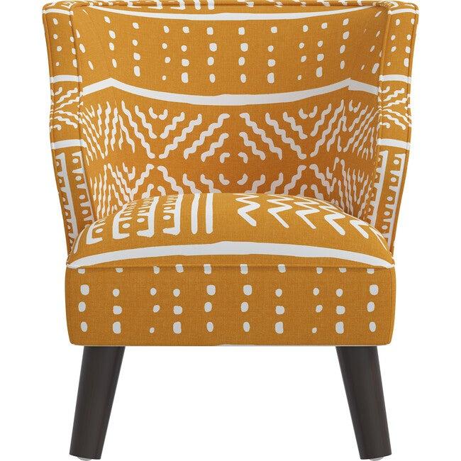 Felix Kids' Chair, Ochre Mudcloth