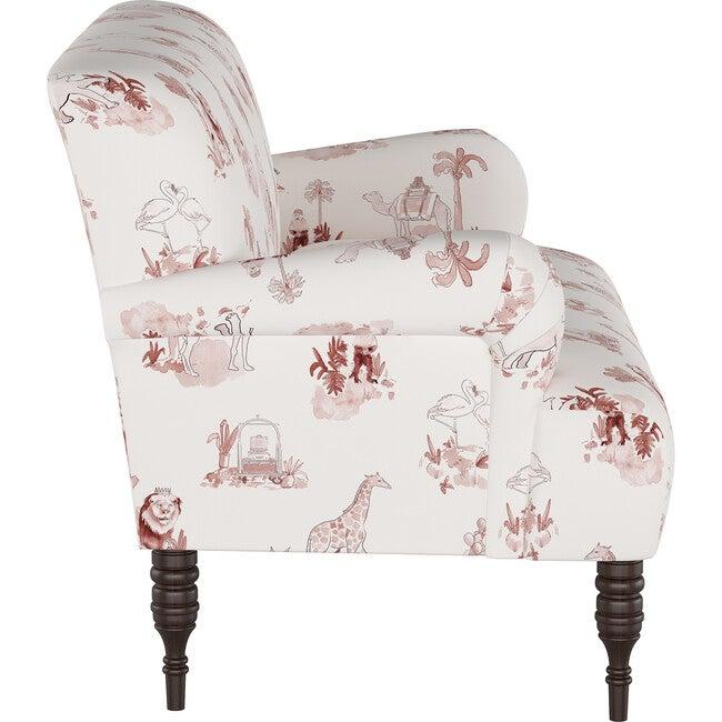Settee, Malin Toile Pink