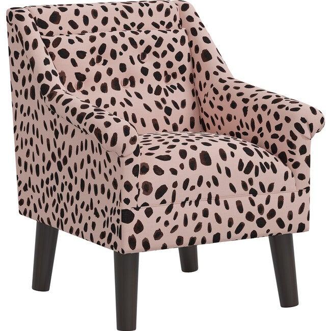 Finn Kids' Chair, Rose Cheetah