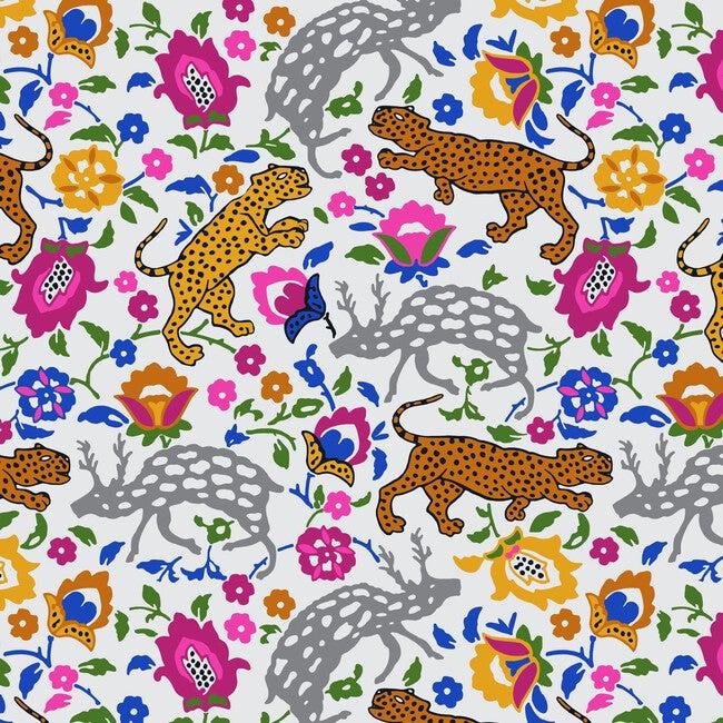 Emma Room Screen, Cool Multi Leopard