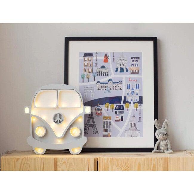 Van Lamp, White & Grey