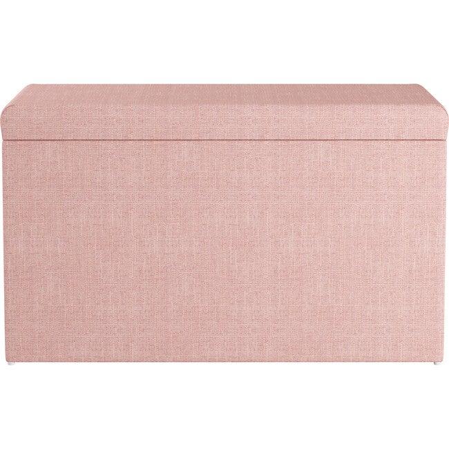 Palmer Storage Bench, Rosequartz Linen - Accent Seating - 1