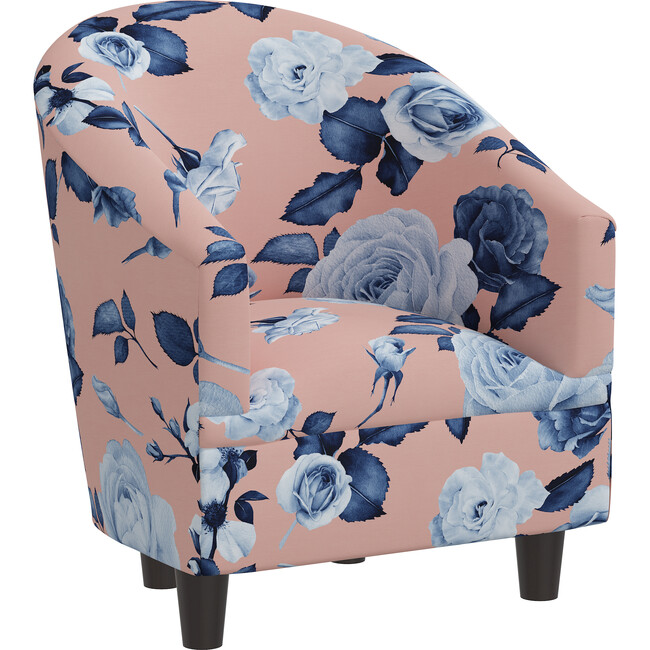 Riley Kids' Chair, Floral Porcelain