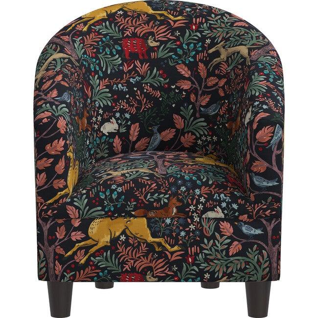 Riley Kids' Chair, Frolic Navy