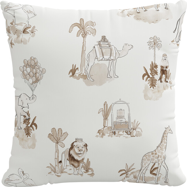Pillow, Malin Toile Tan