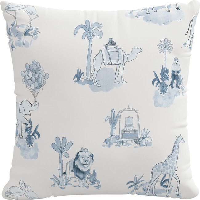 Pillow, Malin Toile Blue