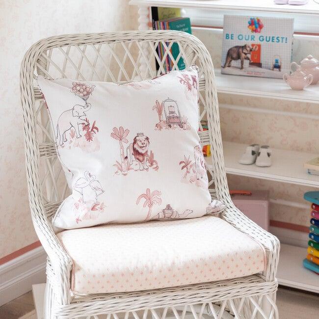 Pillow, Malin Toile Pink