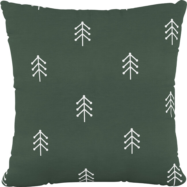 Classic Throw Pillow, Evergreen Tree