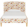 Phoenix Platform Bed, Happy Things Cream - Beds - 1 - thumbnail