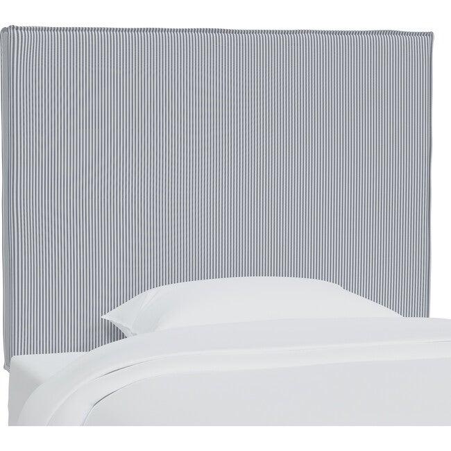 Haven Slipcover Headboard, Navy Oxford Stripe