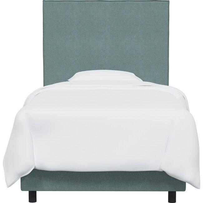 Haven Slipcover Headboard, Seaglass Linen - Beds - 1