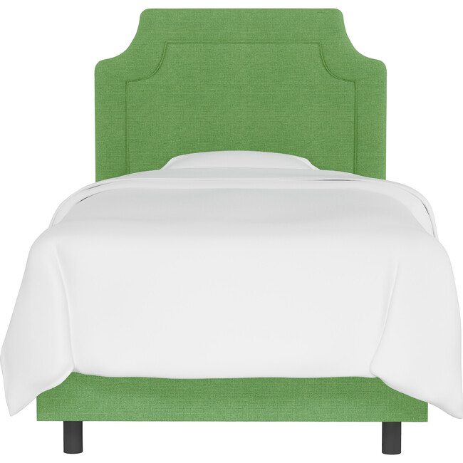 Emerson Bed, Kelly Green Linen