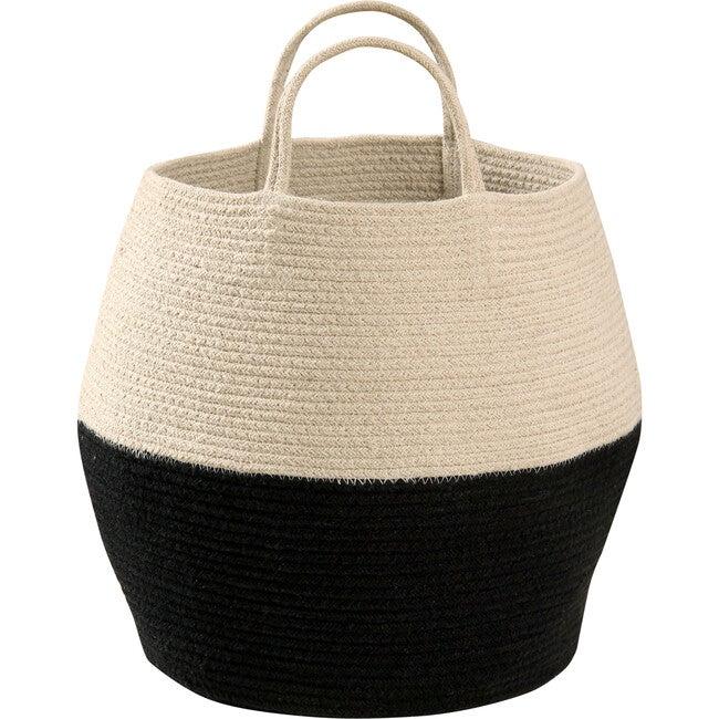Zoco Basket, Vintage Blue/Natural