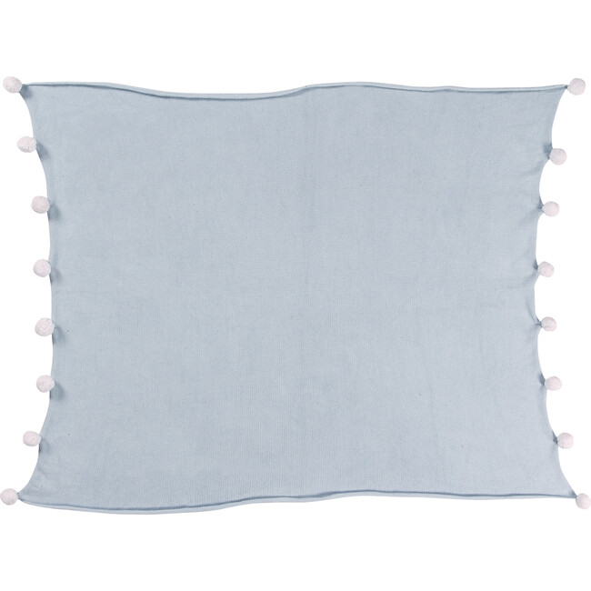 Bubbly Baby Blanket, Soft Blue