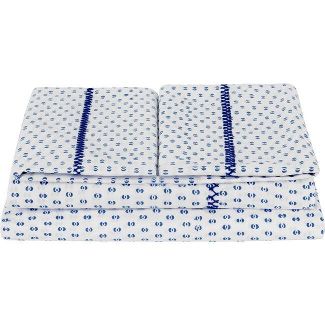 Hilma Sheet Set, Blue