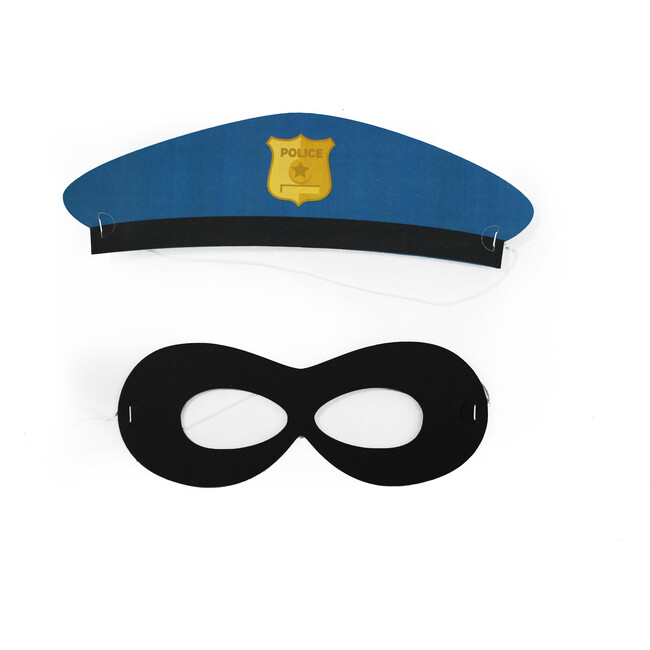 Cops And Robbers Hats and Masks - Party Accessories - 1
