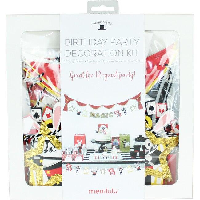 Magic Show Birthday Party Decoration Kit