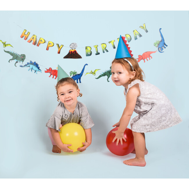 Dinosaur Party Birthday Banner
