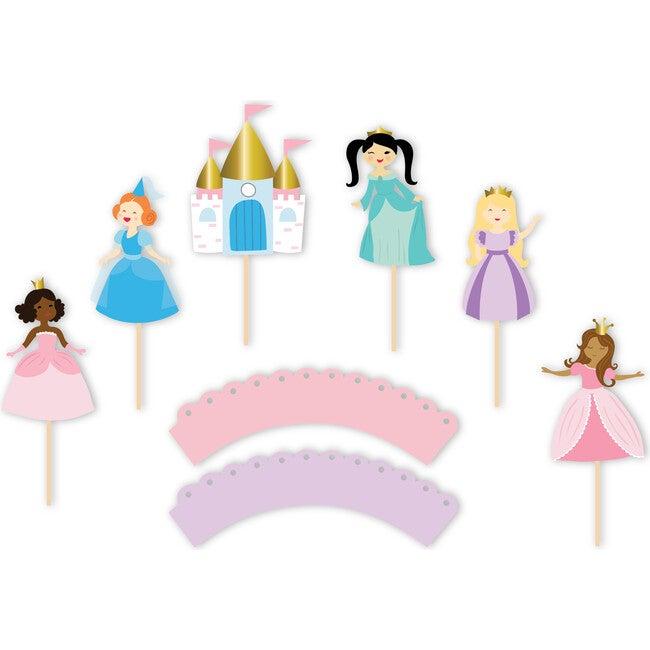Pretty Princess Cupcake Toppers