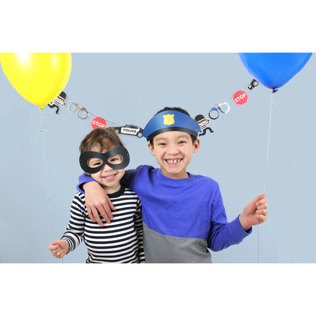 Cops And Robbers Hats and Masks