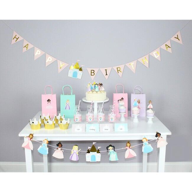 Pretty Princess Birthday Banner