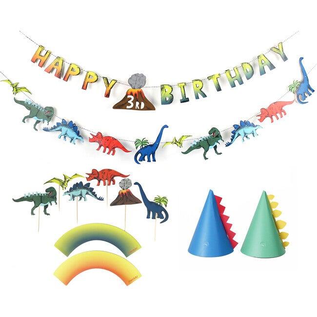Dinosaur Birthday Party Decoration Kit - Decorations - 1