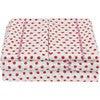 Luna Sheet Set, Red/Pink - Sheets - 1 - thumbnail