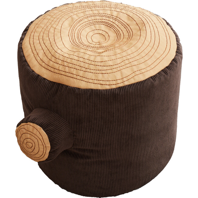 Tree Stump Pouf - Accent Seating - 1