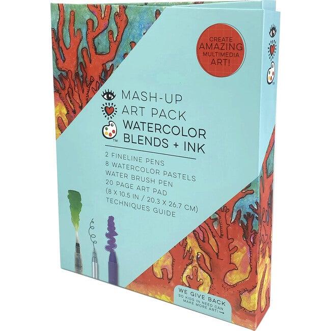 Mash Up Art Pack, Watercolor Blends + Ink - Arts & Crafts - 1