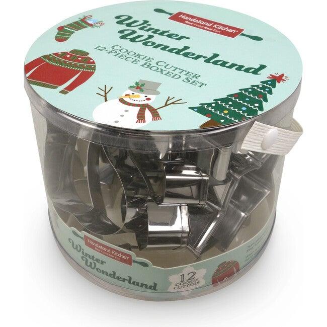 Winter Wonderland 12-Piece Cookie Cutter Set