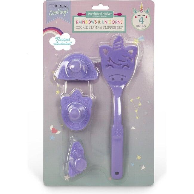 Rainbows & Unicorns Cookie Stamp & Flipper Set
