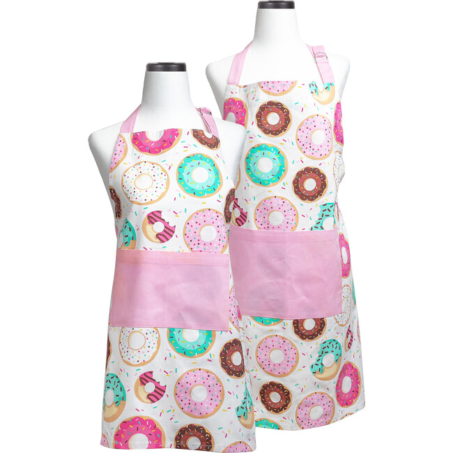 Donut Shoppe Adult and Youth Apron Boxed Set