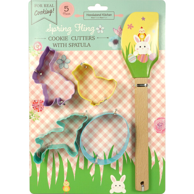 Spring Fling Cookie Cutter Set with Spatula